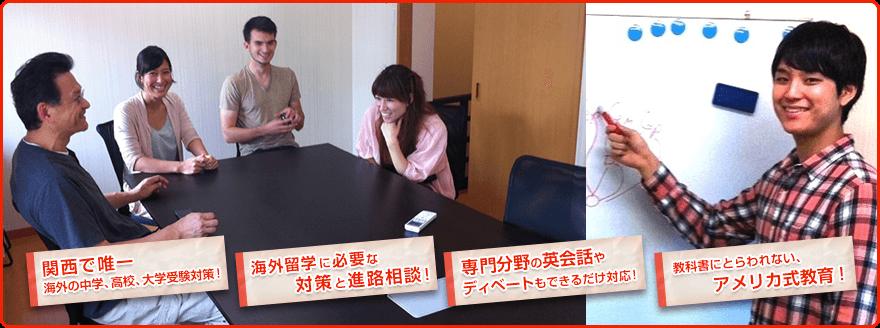 京都にある英会話教室・英語塾のAAAアカデミー
